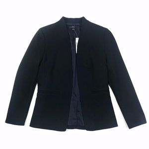 NWT J Crew 365 Twill Stand Collar Blazer 0